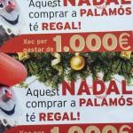 Aquest Nadal, comprar a Palamós té regal!
